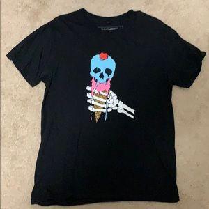 FN Men Skull Ice Cream Shirt